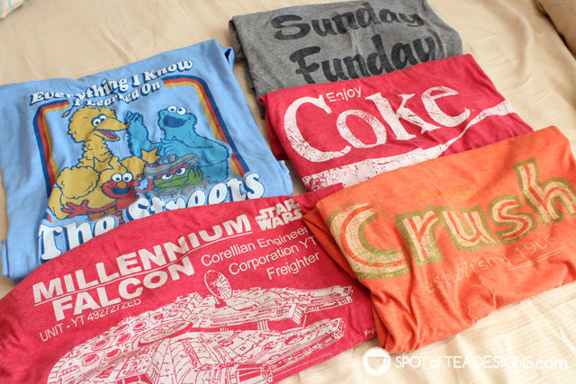 Holiday #gift guide - guys love graphic tshirts! | spotofteadesigns.com