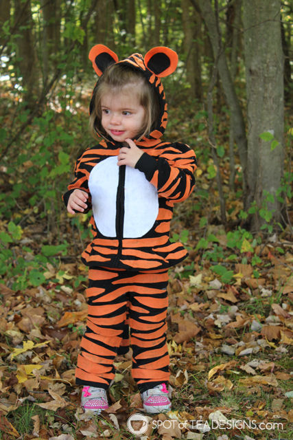 #DIY Tiger #Halloween Costumes for infant and toddler | spotofteadesigns.com  sc 1 st  Spot of Tea Designs & DIY Toddler Strawberry Halloween Costume | Spot of Tea Designs