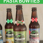 Christmas Pasta Bow Tie Beer Craft