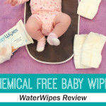 Chemical Free Baby Wipes Reviewed plus GIVEAWAY #WaterWipes #IC #Ad