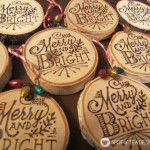 Woodburning Christmas Ornament {Guest Post}