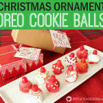 Christmas Ornament OREO Cookie Balls