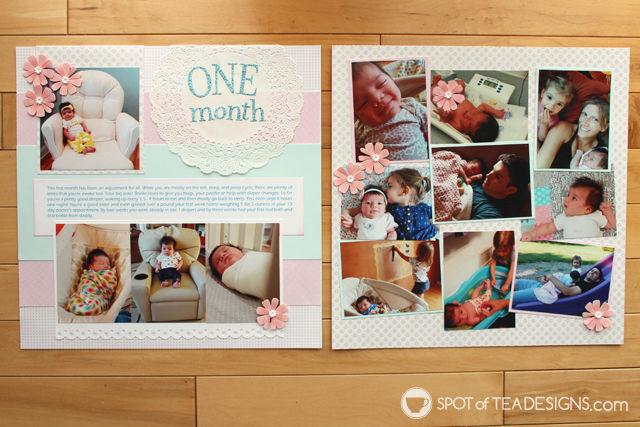 Hailey's First Year Scrapbook: Part 3