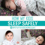 How my kids sleep safely and a GIVEAWAY