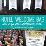 Hotel Welcome Bags – Tips to get your information read