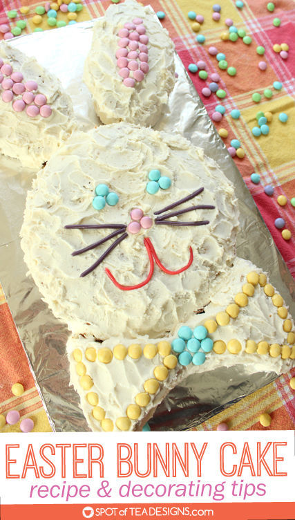 Easter Bunny Cake Recipe And Decorating Tips