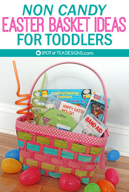 Non candy toddler easter basket ideas spot of tea designs non candy easter basket ideas for a toddler from books to art to hygiene negle Choice Image