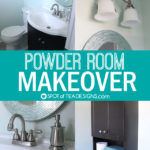 Powder Room Makeover | Reveal Photos