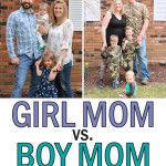 Girl Mom vs Boy Mom