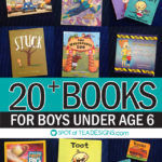 Favorite Books for Boys Under 6 [Guest Post]