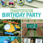 Transportation Birthday Party {GUEST POST}