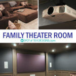 Family Theater Room Reveal (GUEST POST)