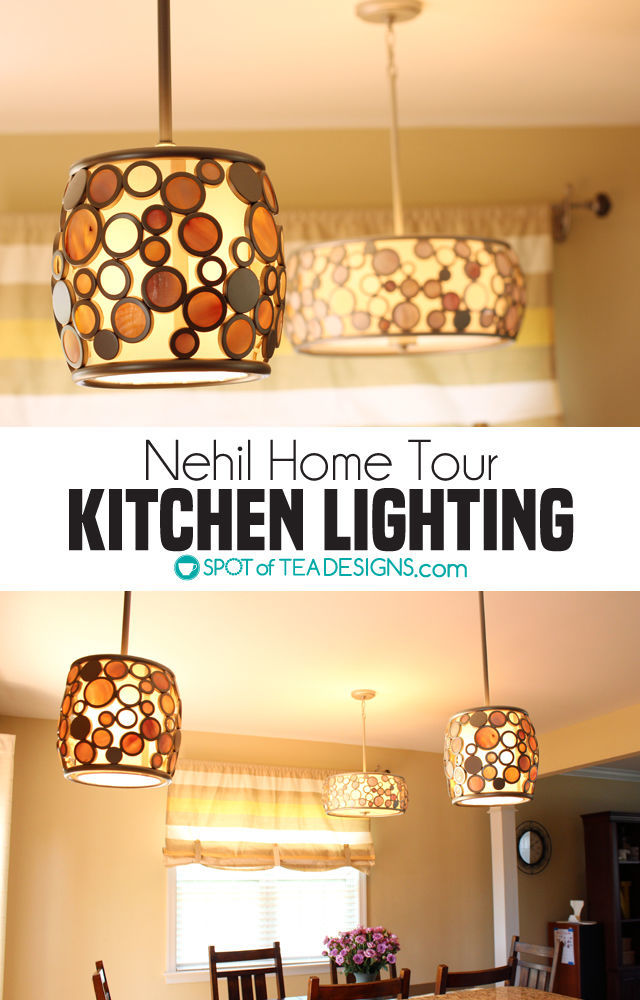 Nehil Home Tour | Updated Kitchen Lighting