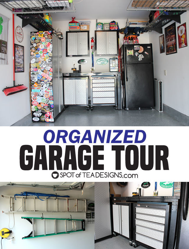 Organized Garage Tour