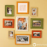 DIY Coordinating Family Gallery Wall