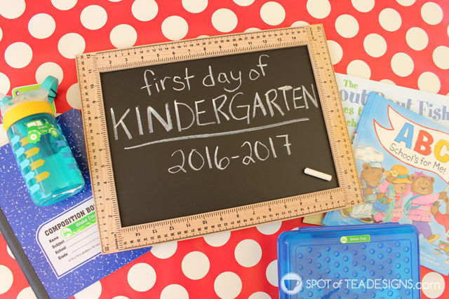 First Day of School Gift Ideas plus free #printable gift tag | spotofteadesigns.com