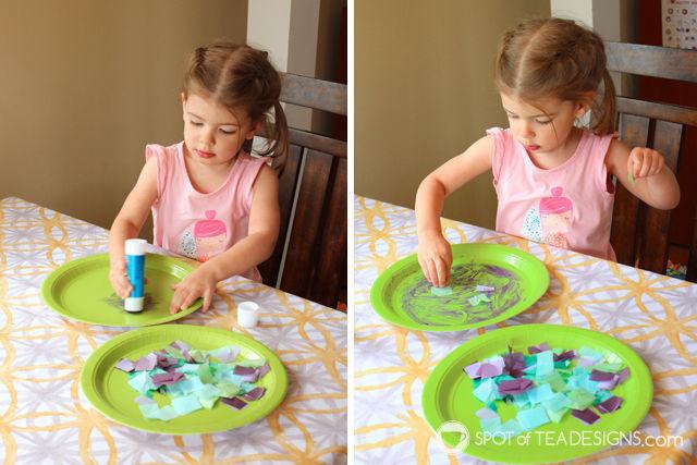 Sea Turtle Paper Plate #KidsCraft #preschool | spotofteadesigns.com
