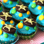 Under the Sea Birthday Party | Turtle Cupcakes