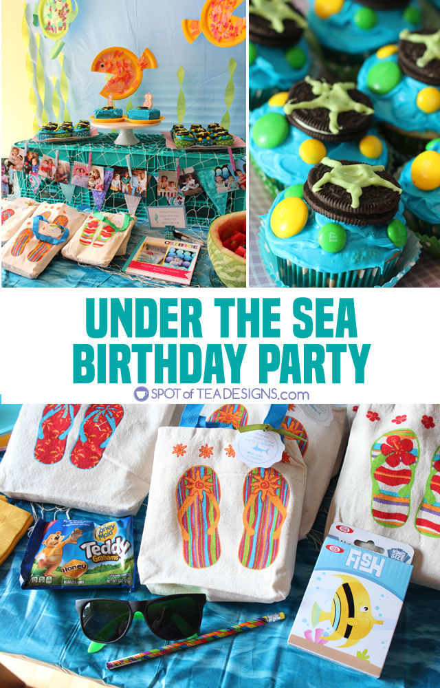 Under The Sea Birthday Party Food Decorations Activities And Favors