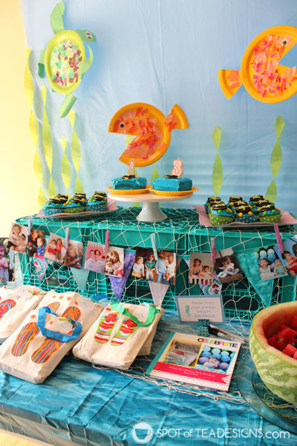 Under the Sea Birthday Party | Dessert Table