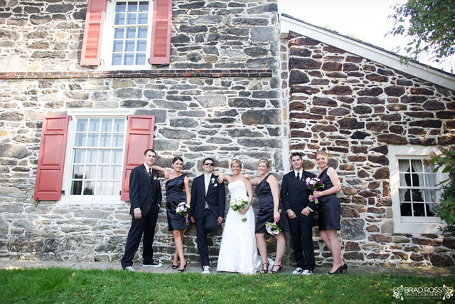 Spotofteadesigns.com Wedding, photographed by Brad Ross Photography - bridal party. #wedding