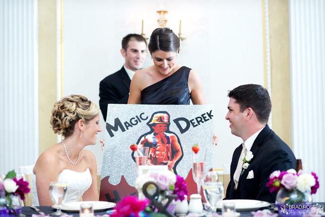 Spotofteadesigns.com Wedding, photographed by Brad Ross Photography - best man's speech
