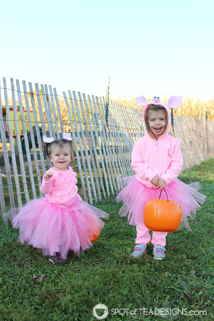 DIY Pig Halloween Costumes for Toddlers