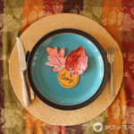 Fall Leaf Place Cards Kids Craft