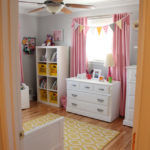 Nehil Home Tour | Pink and Yellow Toddler Bedroom