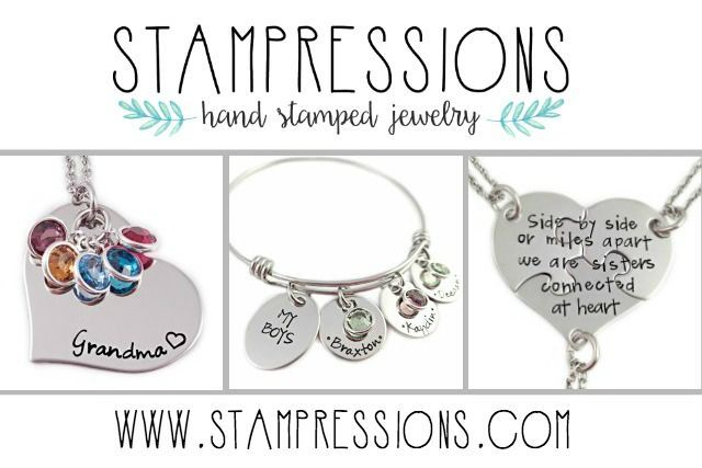 Stampressions Etsy Shop - hand stamped jewelry