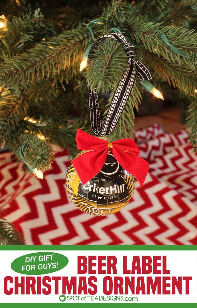 beer christmas ornaments