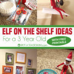 Elf On The Shelf Ideas for a 3 Year Old | Free Printable Schedule