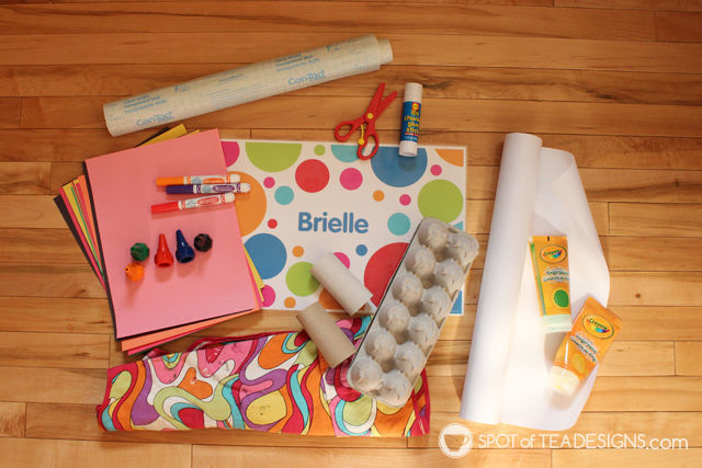 Favorite Arts and Crafts supplies for toddlers! #kidscrafts #artsandcrafts | spotofteadesigns.com