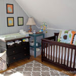 Gender Neutral Modern Animal Nursery: THE FULL REVEAL {GUEST POST}