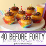 40 Before Forty List