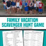 Family Game: Scavenger Hunt