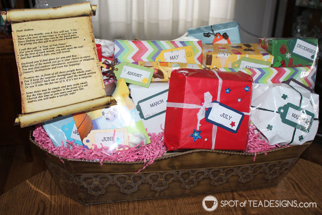 Year of Fun Dates Bridal Shower Gift (Guest Post)