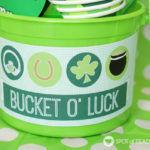 Bucket O Luck with Free Printable