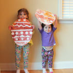 Easter Kids Craft: Contact Paper Resist