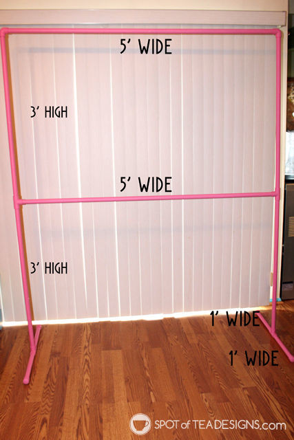DIY Party Backdrop Stand (Guest Post)