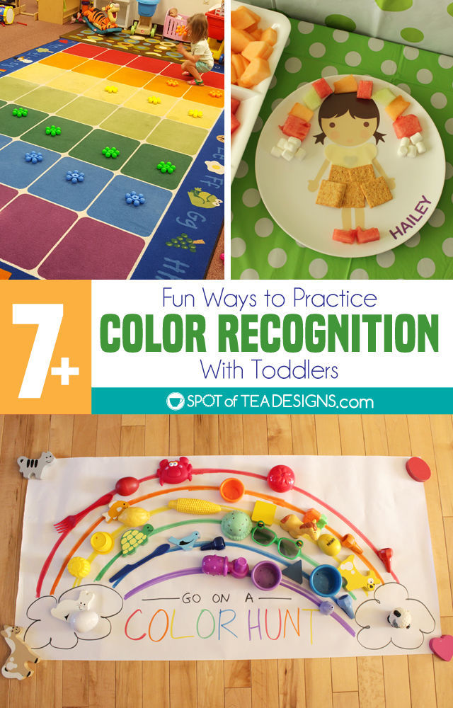 7 Ways to Practice Color Recognition With Toddlers