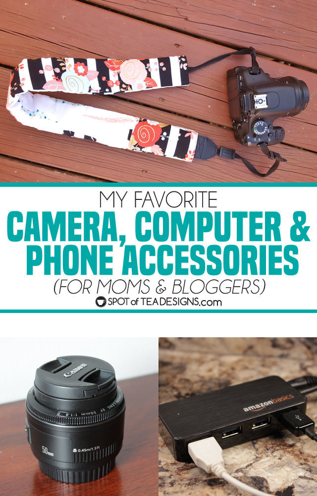 My Favorite Phone, Computer and Camera Accessories