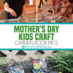 Mother's Day Kids Craft for the Garden