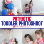 Patriotic Toddler Photoshoot