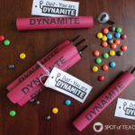 Dynamite Candy Tube Father's Day Gift