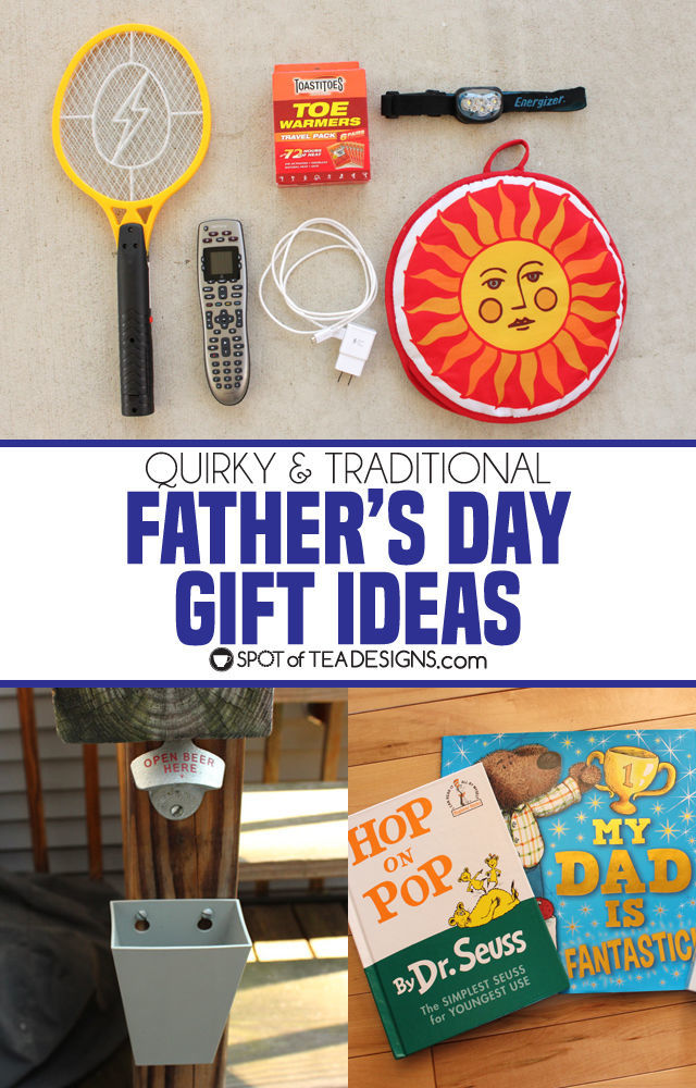 Traditional and Quirky Father's Day Gift Ideas for Dad