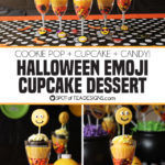 Halloween Emoji Cupcake Dessert