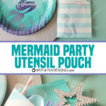 Mermaid Party | Utensil Pouches