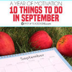 10 things to do in September
