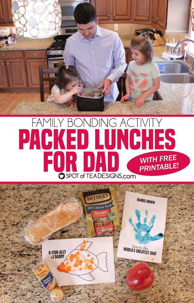 Family Bonding: Packed Lunches for Dad